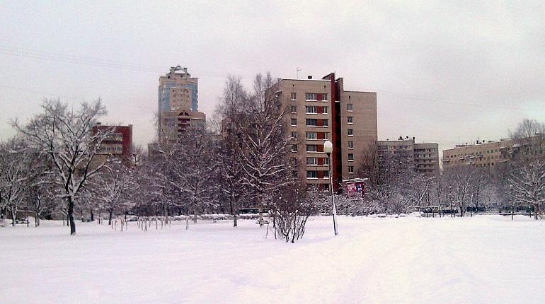 Запах гари в Кировский район принес ветер из соседнего района
