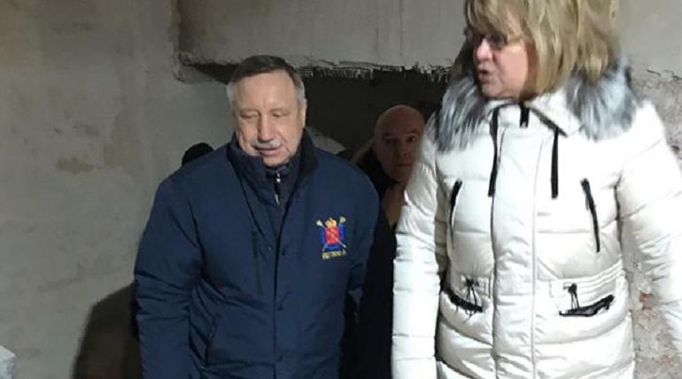 Беглов проводит объезд Адмиралтейского района