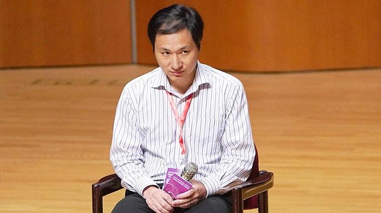 Ученый Хэ Цзянькуй. Фото: соцсети