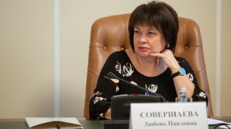 Любовь Совершаева. Фото: szfo.gov.ru