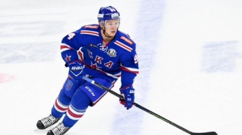 Барабанов стал лучшим нападающим недели в КХЛ