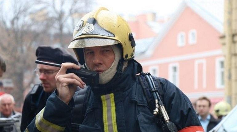 В поселке Озерки сгорела дача. Фото: Baltphoto