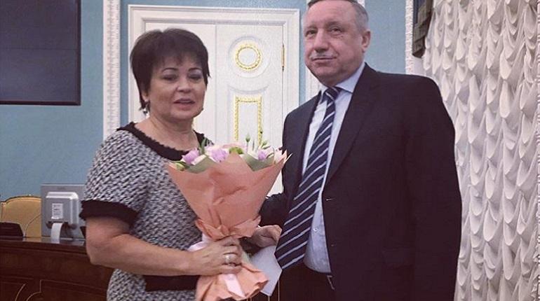 Вице-губернатор Петербурга Любовь Совершаева и врио губернатора города Александр Беглов. Фото: Instagram