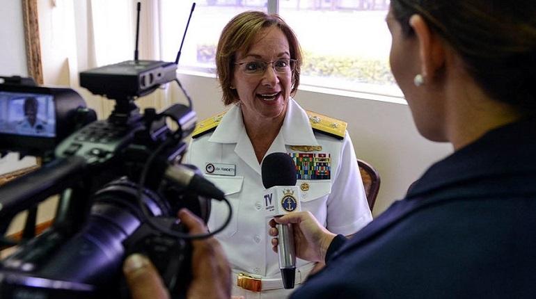Вице-адмирал США прокомментировала профессионализм российских военных