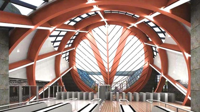 В Петербурге планируют строить новые станции метро. Фото:  gge.ru