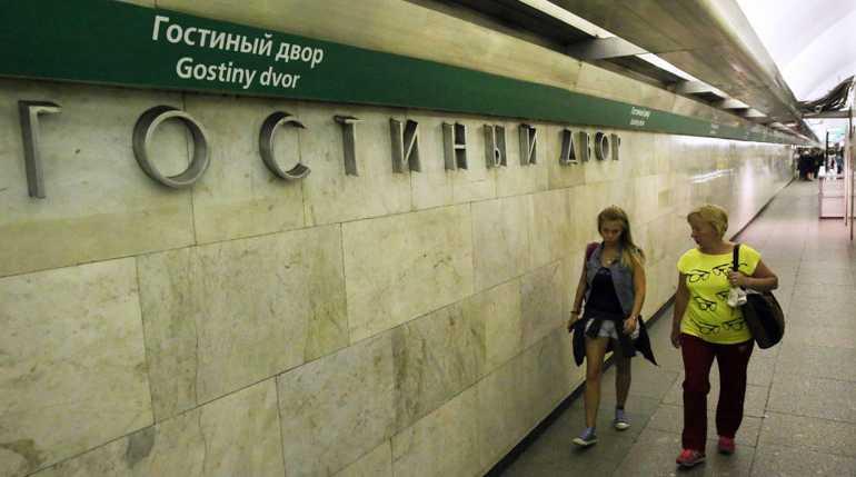 Пассажиров не пускают на станцию «Гостиный Двор» из-за проверки