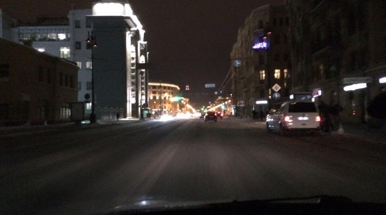 Часть Московского проспекта погрузилась во тьму