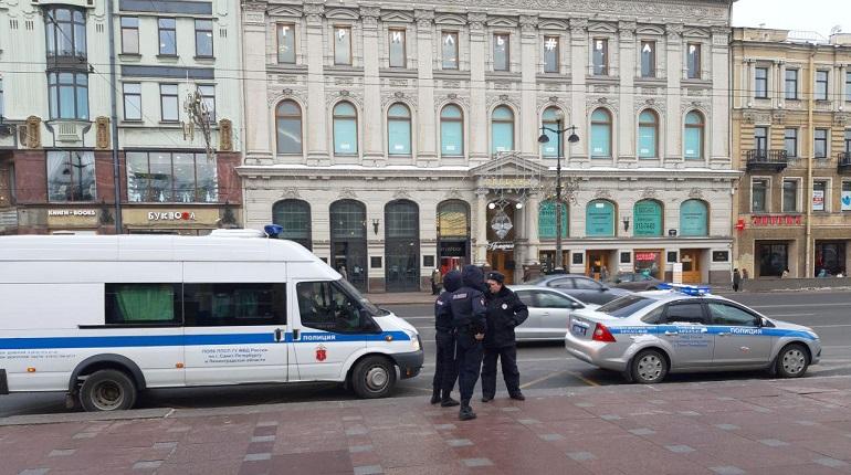 Защитницу зеленых территорий задержали на Невском проспекте