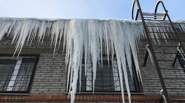 В Петербург пришла оттепель с ледяными дождями, 50 лет назад трещал мороз