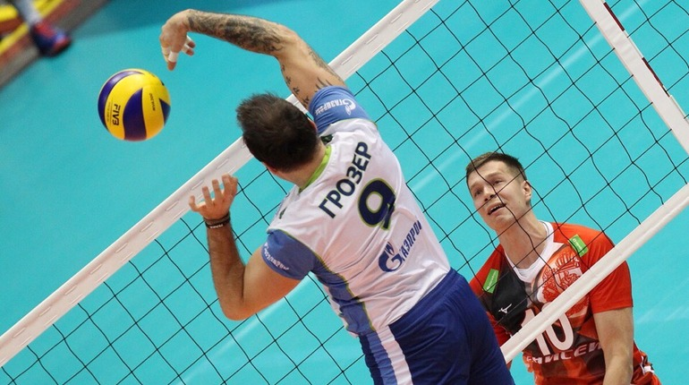 Волейбольный «Зенит» проиграл «Белогорью» на выезде