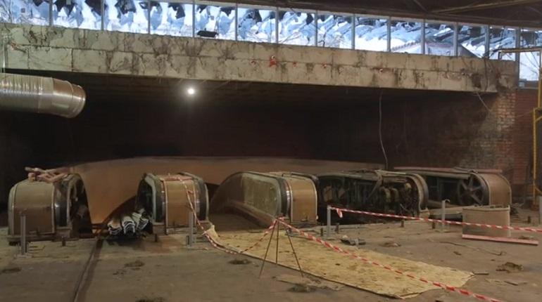 «Петербургский метрополитен» отчитался о ходе ремонта на «Академической»