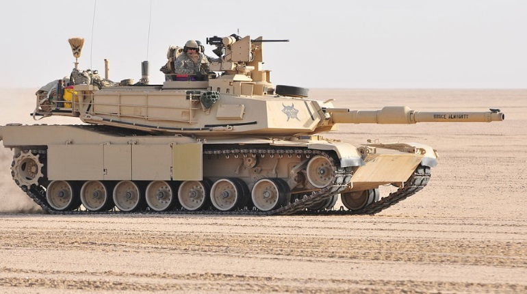 Американский танк Abrams. Фото: Википедия