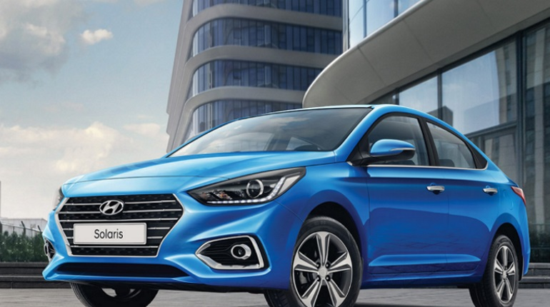 Hyundai Solaris назван самым популярным авто в Петербурге. Фото: Hyundai