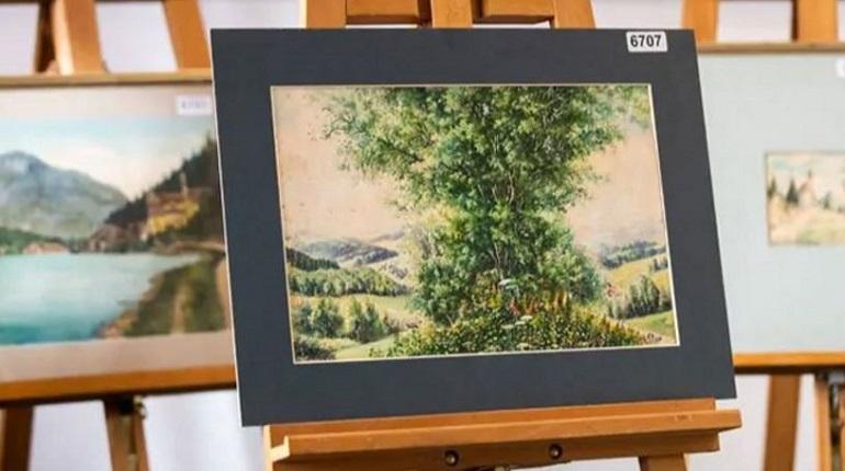 На аукционе в Нюрнберге никто не купил картины Гитлера
