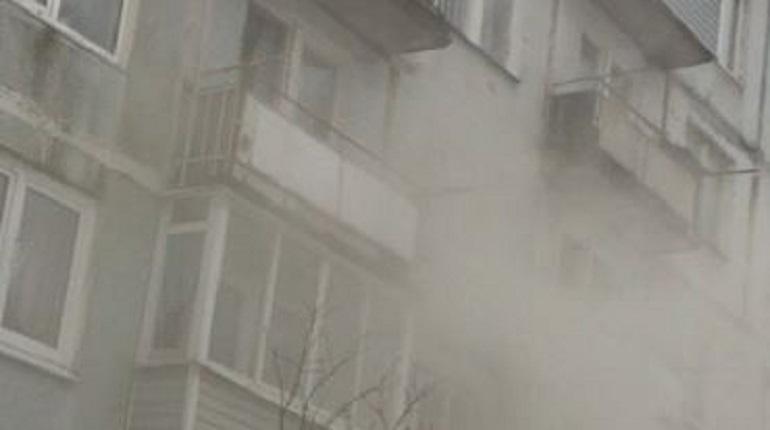 Пожар в квартире. Фото: ДТП и ЧП | Ленинградская область Он-Лайн | СПб