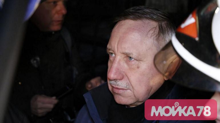Врио губернатора Петербурга Александр Беглов. Фото: Мойка78