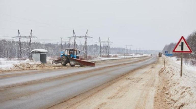 Дороги в Ленобласти готовят к 12-градусным морозам