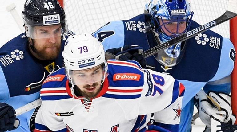 СКА проиграл «Сибири» со счетом 1:0
