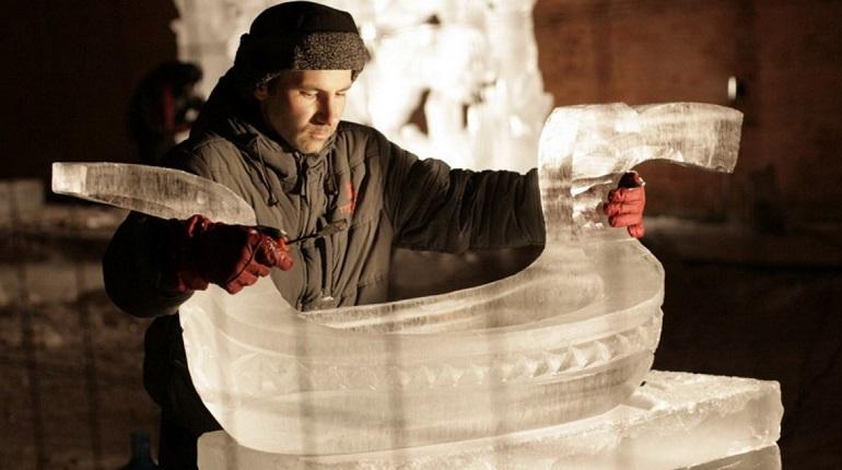 В феврале петербуржцы смогут увидеть уникальные ледовые арт-объекты