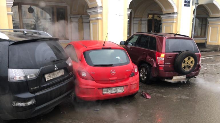 ДТП в центре Петербурга. Фото: группа