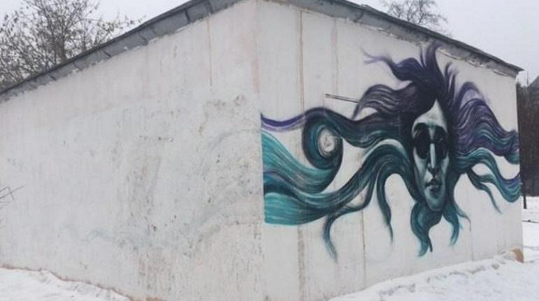 Граффити в Петербурге. Фото:  группа