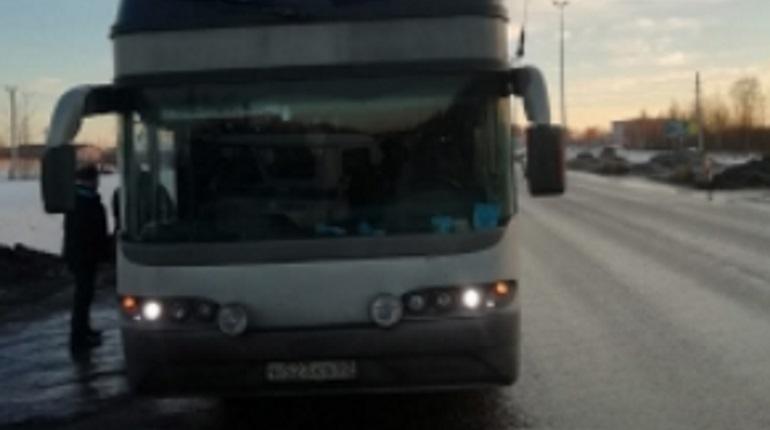 Мужчину зарезали в рейсовом автобусе. Фото:  СУ СК РФ по Ленобласти
