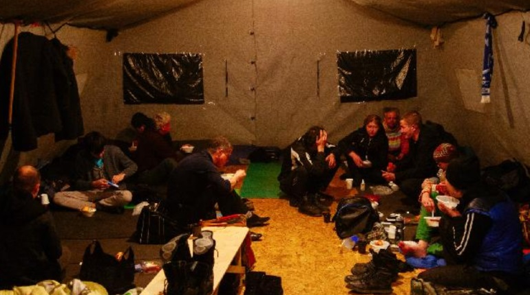 Что получат бездомные Петербурга в случае новой волны Covid-19