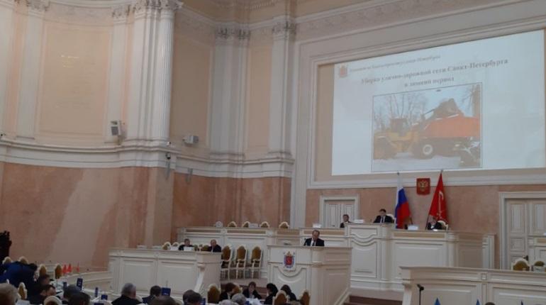 Владимир Рублевский в ЗакСе. Фото: