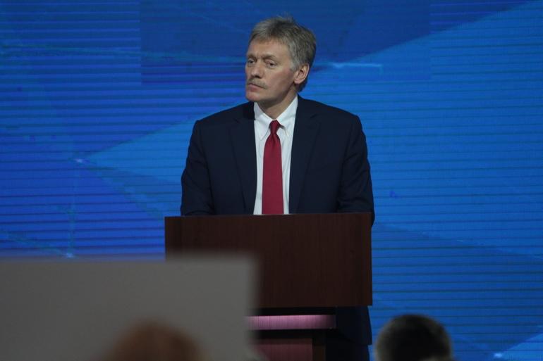 Пресс-секретарь главы государства Дмитрий Песков. Фото: Мойка78
