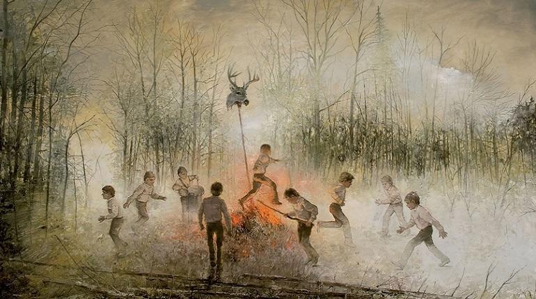 Картины Ярмо Мякиля покажут в Петербурге. Фото: www.jarmomakila.com