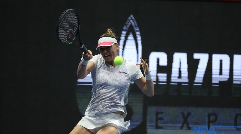 Звонарева проиграла в полуфинале SPb Ladies Trophy