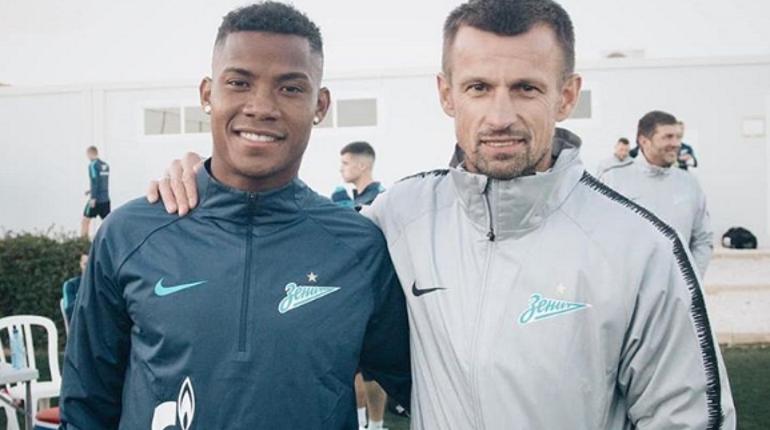 Семак и Барриос. Фото: Instagram