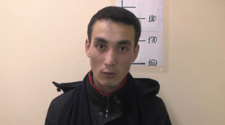 Подозреваемый в серии грабежей. Фото: ГУ МВД России по СПб и ЛО