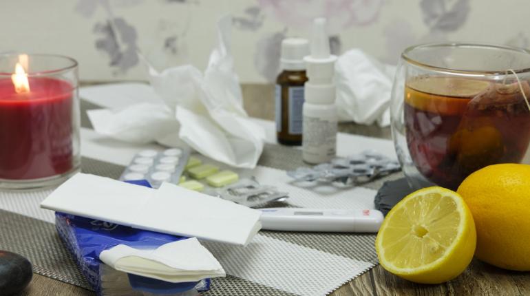 С гриппом и ОРВИ выходные в больнице провели 353 петербуржца