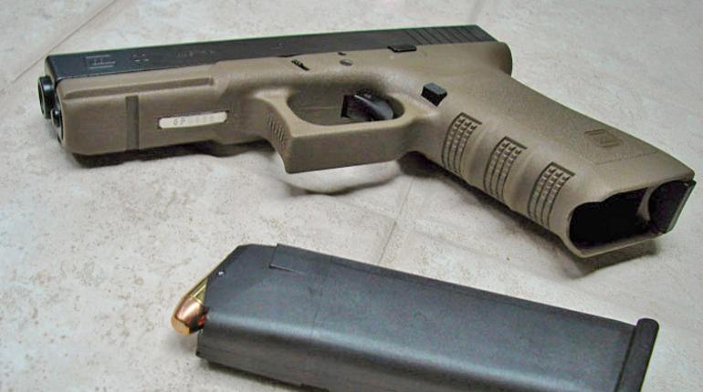 У нелегалов в Петербурге нашли боевой пистолет