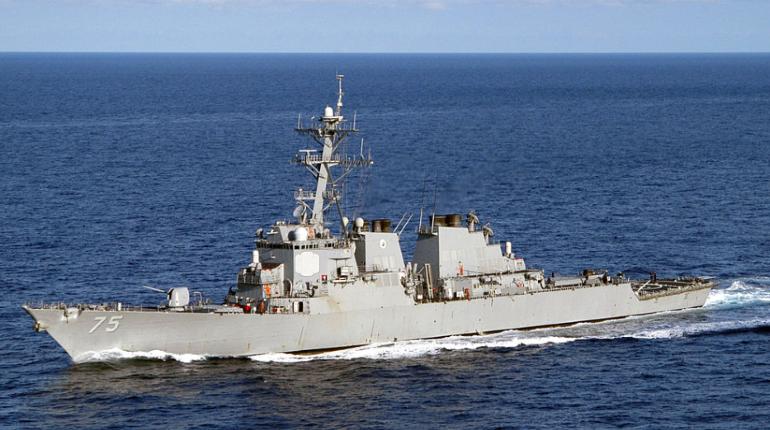 Эсминец США вошел в одесский порт