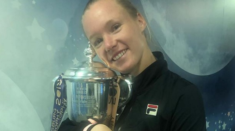 Бертенс выиграла St. Petersburg Ladies Trophy