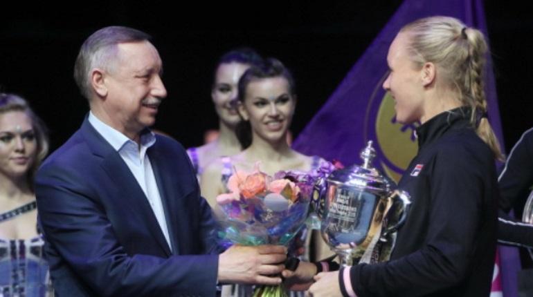 Беглов поздравил победителей St. Petersburg Ladies Trophy