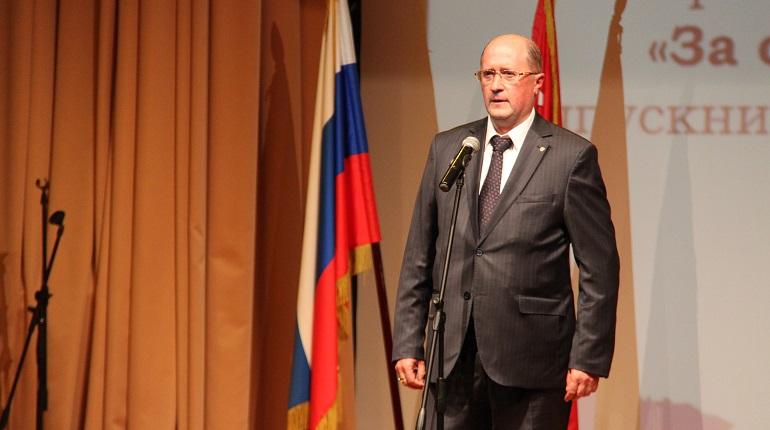 Глава Красносельского района Олег Фадеенко. Фото: gov.spb.ru