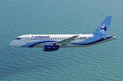 SSJ 100 Interjet Фото: wikipedia