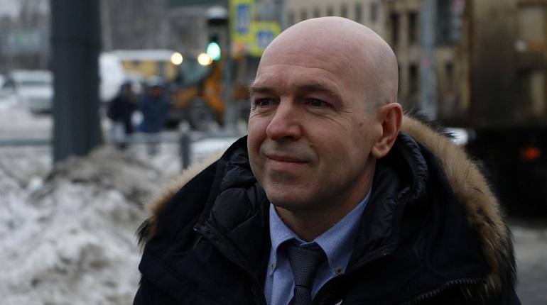 Глава Фрунзенского района Петербурга Константин Серов. Фото: Мойка78 Николай Овсянников