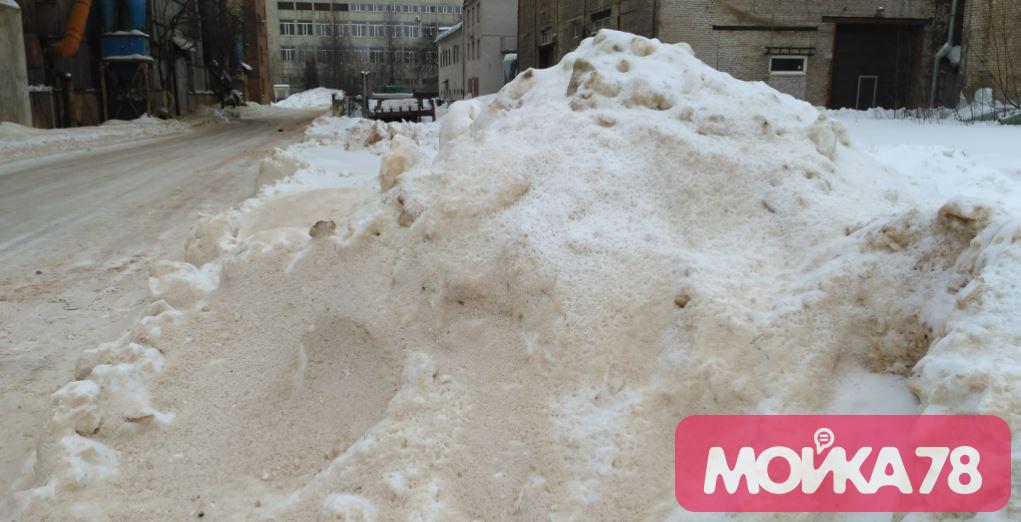 Росприроднадзор объяснил оранжевый снег у завода «Армалит»