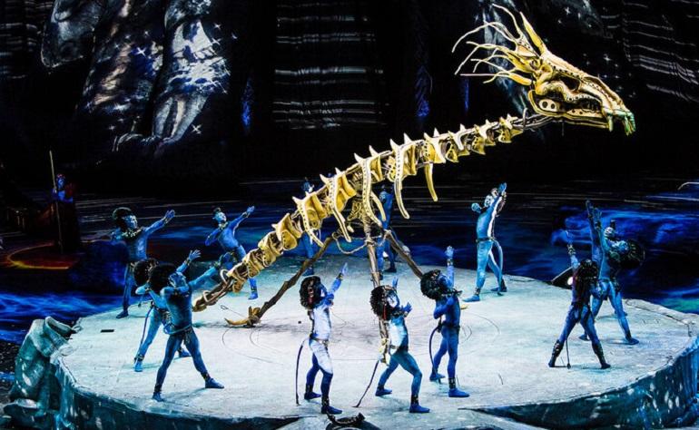 В Петербург едет Cirque du Soleil с шоу про синих существ