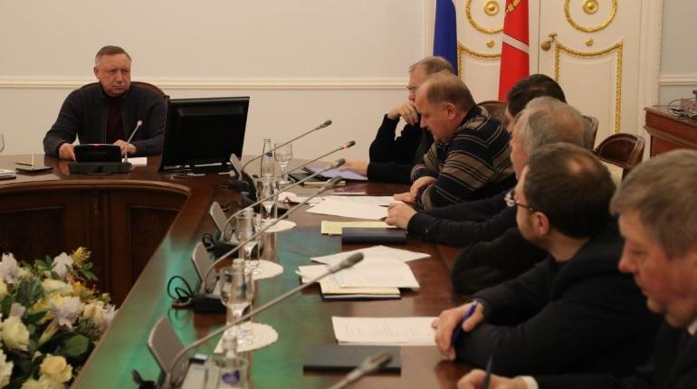 Совещание с врио губернатора Петербурга Александром Бегловым. Фото: gov.spb.ru