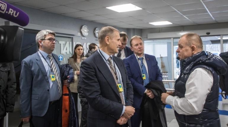 Вице-губернатор Евгений Елин. Фото: gov.spb.ru