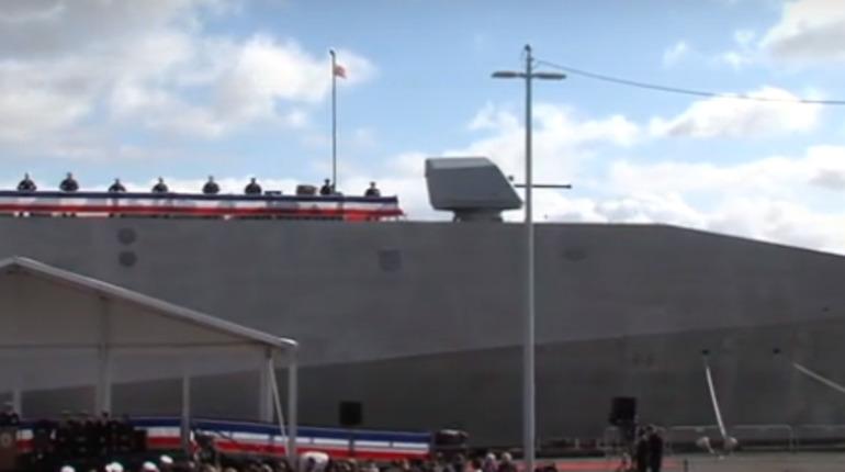 Корабль-«невидимка» пополнил состав ВМС США