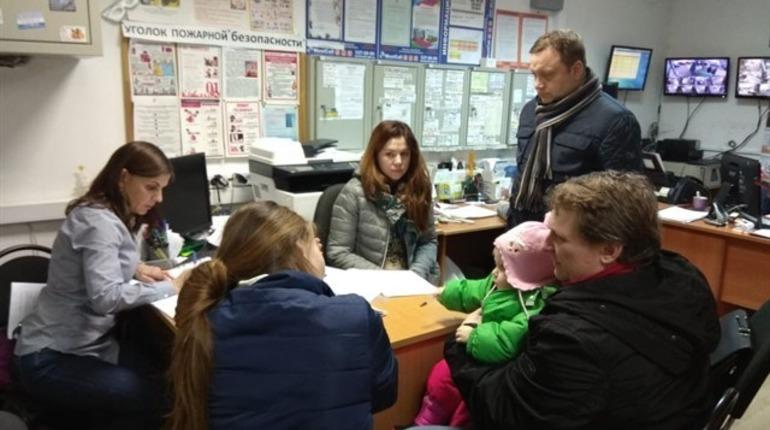 В многоэтажке в Кудрово после пожара нет воды, тепла и электричества