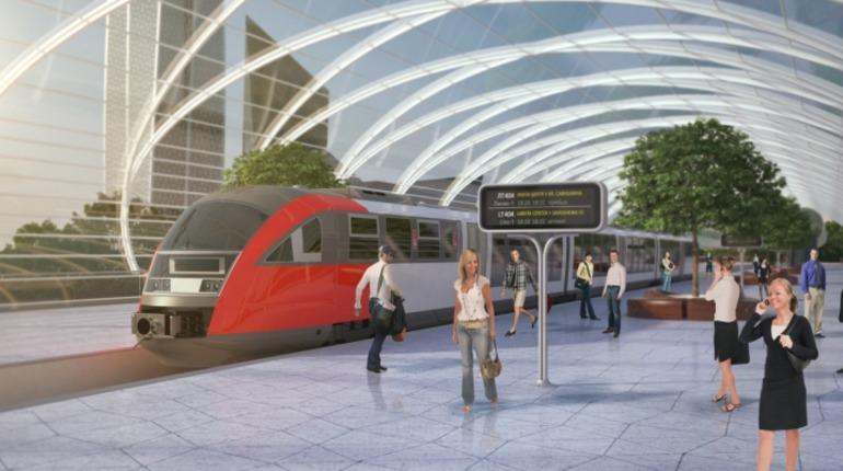 На модернизация железнодорожного узла в Петербурге будет выделено почти 300 млрд рублей.