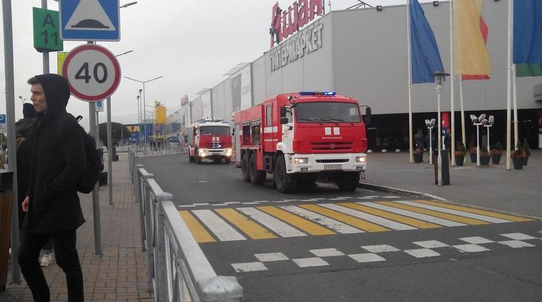 Пожарная система «Мега Дыбенко» и «Мега Парнас» не тревожит МЧС