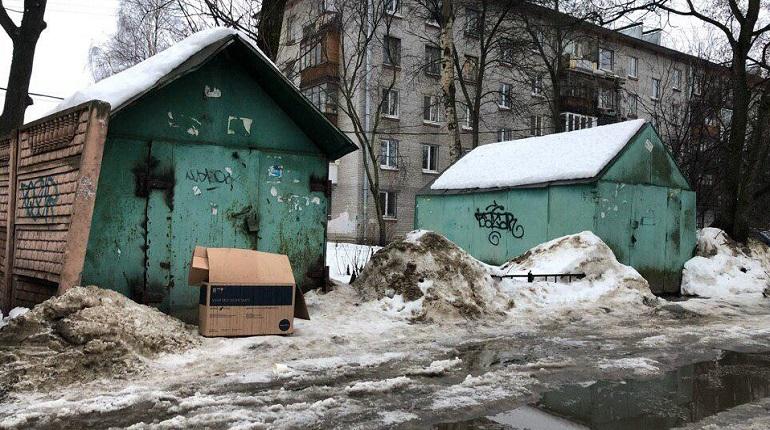 Как убирают снег депутаты Петербурга: Цивилев и Четырбок